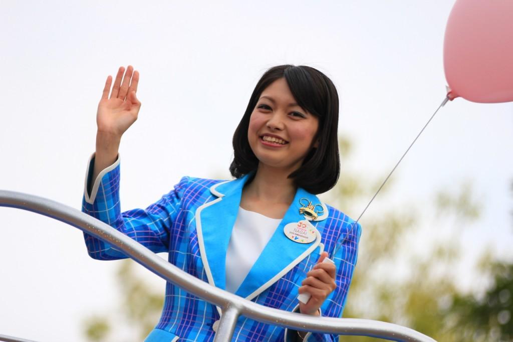 ・2013年度・東京ディズニーリゾート・アンバサダーの永井 綾香さん