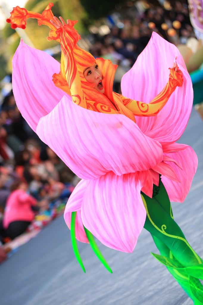 """""""フラワー"""" ティンカーベルたちが集う場所に咲く不思議で美しい花。"""