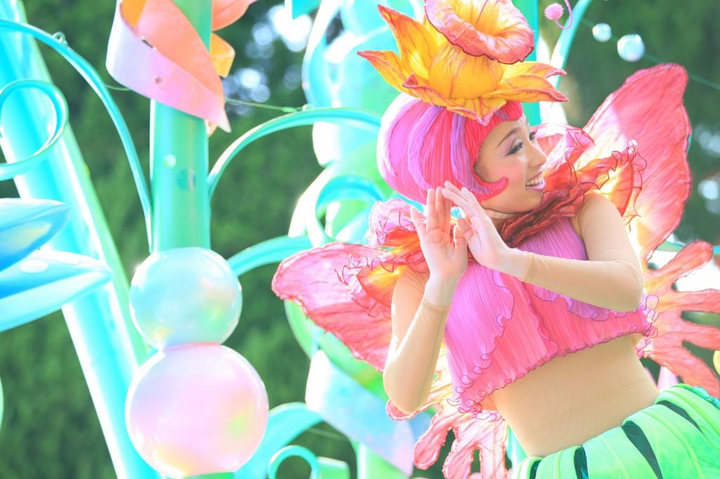 """""""フェアリー・フレンズ"""" ティンカーベルと仲良しの妖精。可愛らしいまさにファンタジックな衣装"""