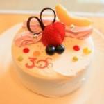 「アニバーサリーケーキ」を食す