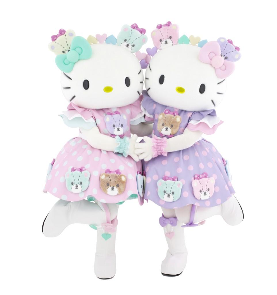 キティ&ミミィ_40th記念衣装