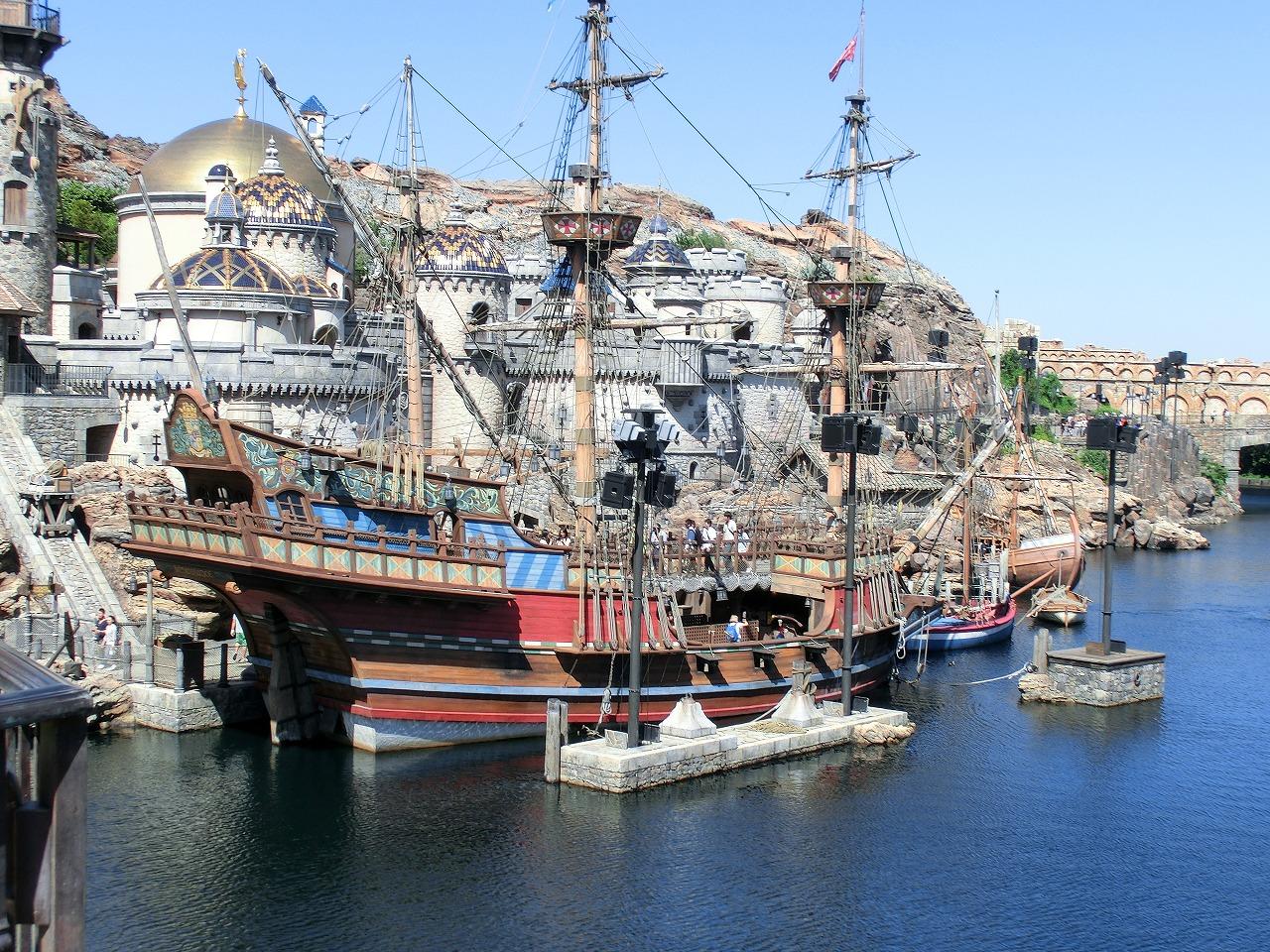 東京ディズニーシーの帆船たち』 第1回:ルネサンス号 〜その1ガレオン
