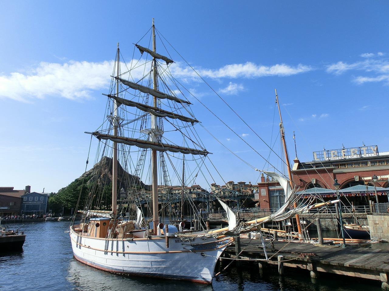 東京ディズニーシーの帆船たち』 第1回:ルネサンス号 〜その1 ...