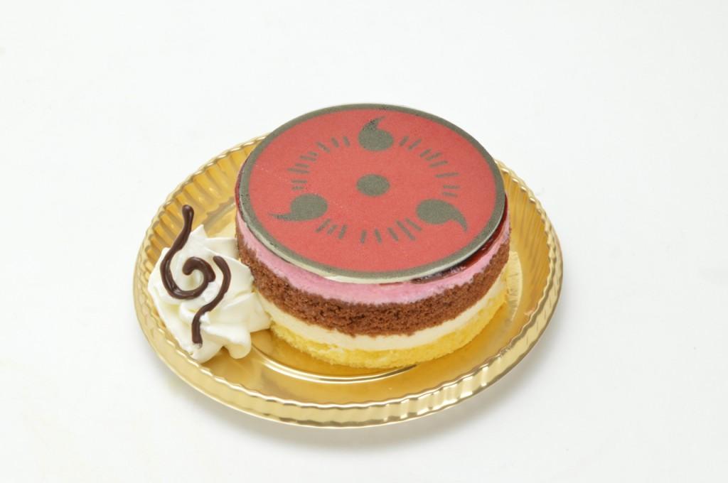 カカシのサワーチェリー写輪眼ケーキ(600円)
