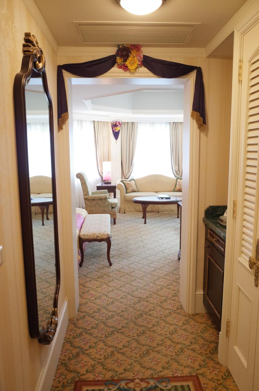 東京ディズニーランドホテル「塔の上のラプンツェル」をテーマにした客室