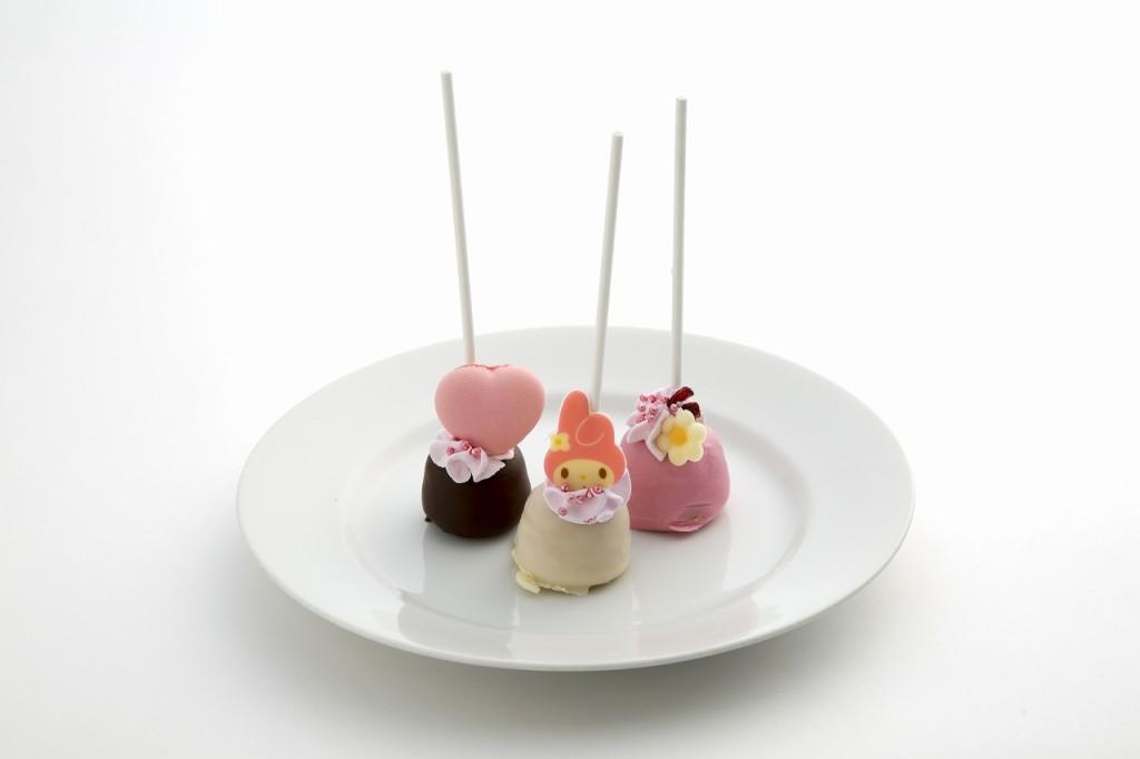マイメロディの春色パンケーキポップ(3本セット)
