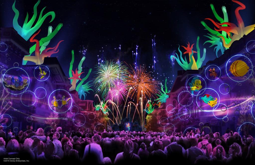 3.Disneyland forever_Fireworks