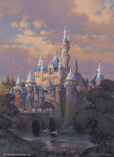 8.Sleeping Beauty Castle Decor