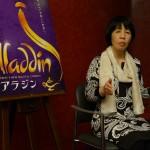 劇団四季ミュージカル『アラジン』日本語訳詞担当、高橋知伽江さんへ合同インタビューを実施