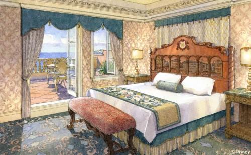 「ヴェネツィア・サイド」の客室イメージ