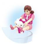 「コップのフチ子と GOTOCHI  KITTY」東京限定で新発売!