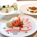 東京ディズニーシー・ホテルミラコスタ オチェーアノ「クリスマスウィッシュランチコース」を食す。