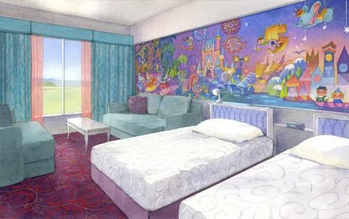 「東京ディズニーセレブレーションホテル:ウィッシュ」客室のイメージ