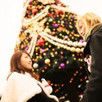 東京ディズニーシーでクリスマスデートを楽しむ