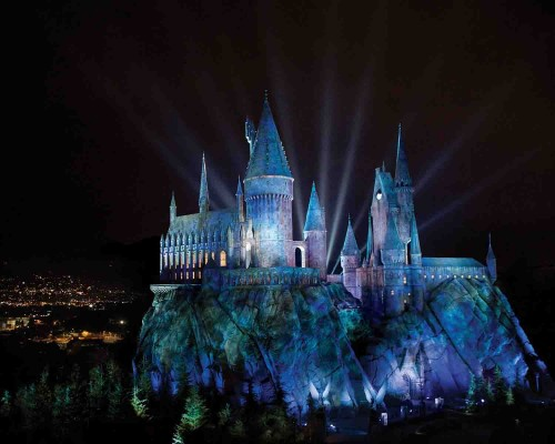 WWoHP castle - grand opening 4-7-16