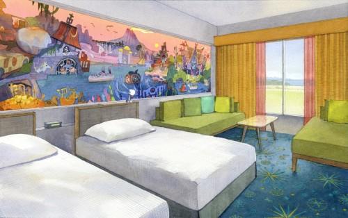 東京ディズニーセレブレーションホテル:ディスカバー 客室のイメージ