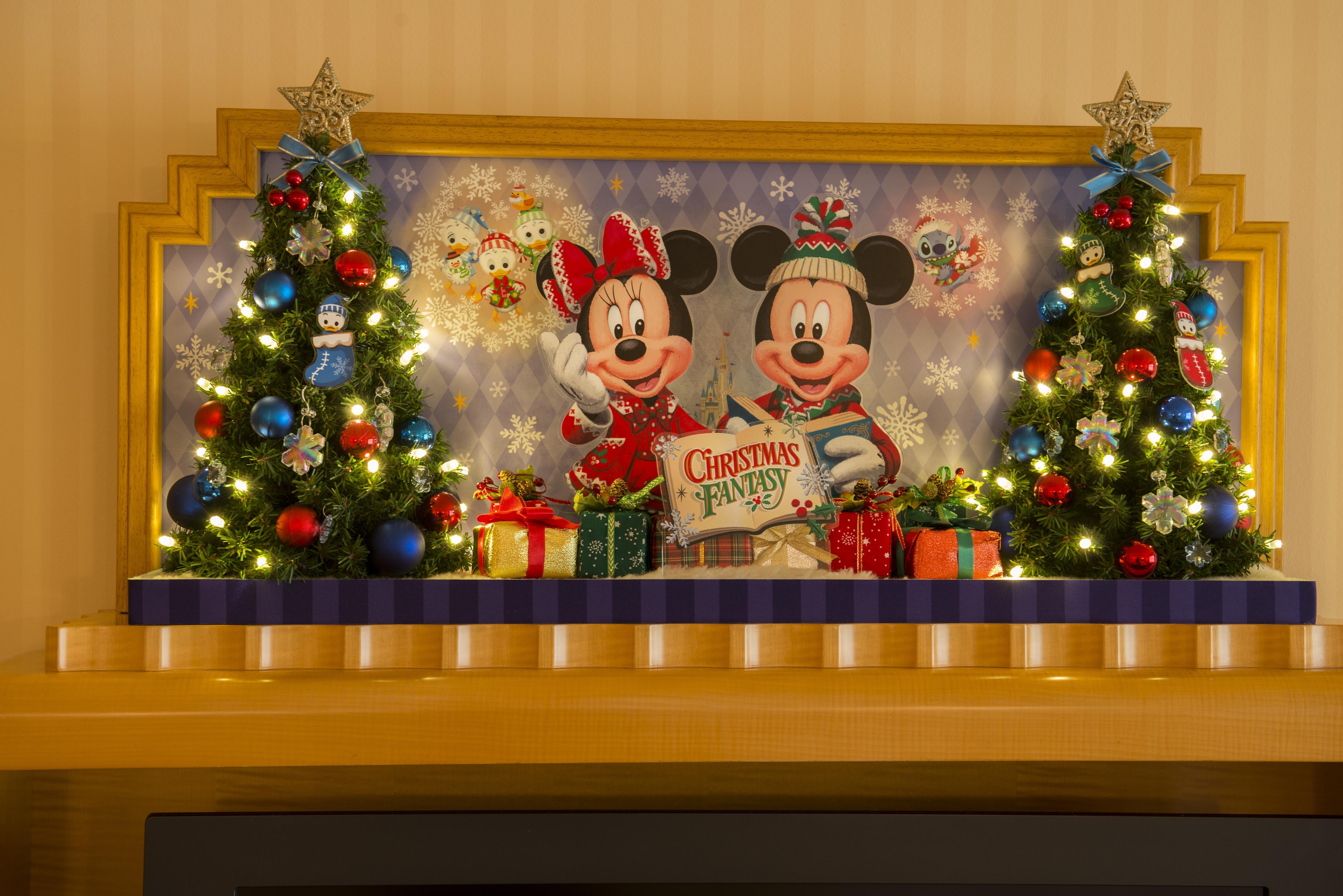 ディズニーアンバサダーホテルのクリスマスイルミネーションが