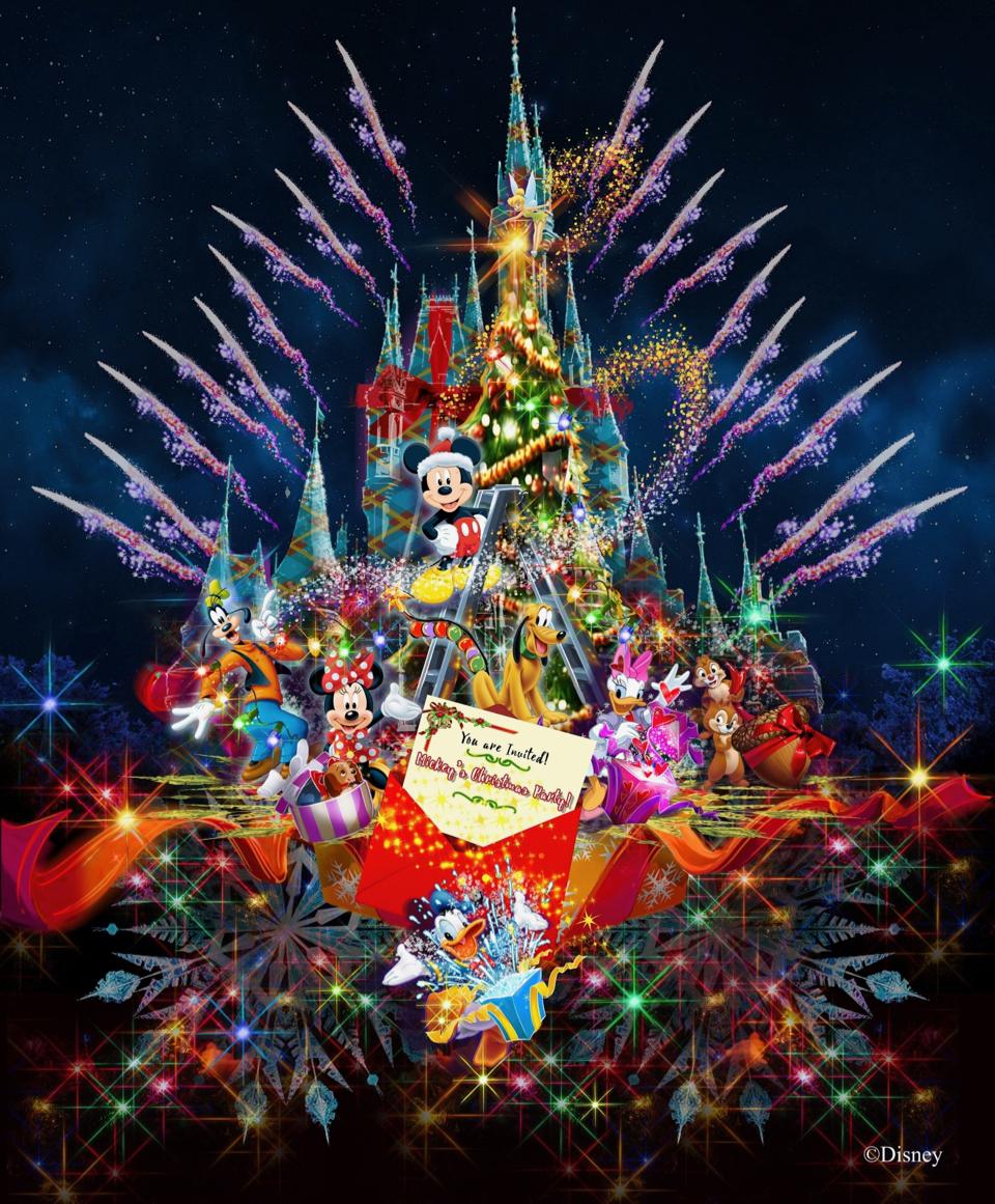 東京ディズニーリゾートのクリスマス、今年はキャッスルプロジェクション