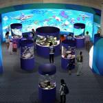 鴨川シーワールド 2014年3月1日リニューアルOPEN!国内の水族館・動物園で初となる参加型巨大デジタル水槽登場!