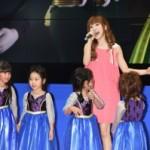 「アナと雪の女王 おしゃれドレス」大ヒット記念!神田沙也加さん劇中歌生披露!