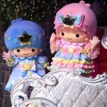 新コスチュームのキキ&ララのライブキャラクターがパレードに登場!