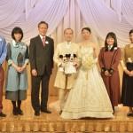 東京ディズニーシー・ホテルミラコスタ、累計婚礼組数1万組目の新郎新婦をお迎え。