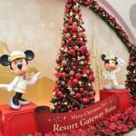 ディズニーリゾートラインでクリスマスツリーを巡る