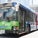 東京2020マスコットデザインラッピングバス運行開始!