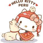 キティがペルー観光大使に就任 民族衣装を着てペルー旅行を案内