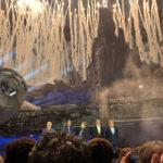 「スター・ウォーズ:ギャラクシーズ・エッジ」オープニングセレモニーに超豪華ゲストが登場
