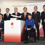 東京2020オリンピック聖火リレー到着式概要および聖火特別輸送機デザイン発表!