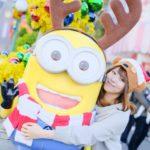 イエロークリスマスで賑わう冬のUSJを花奈澪が一挙紹介!