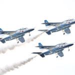 東京2020オリンピック聖火リレー聖火到着式 ブルーインパルスによる「オリンピックシンボル」の展示飛行決定!