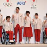 東京2020日本代表選手団公式服装(開会式用・式典用)お披露目!