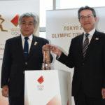 東京2020オリンピック聖火リレー聖火展示セレモニー開催!