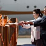 東京2020オリンピック聖火リレー 聖火到着式開催!