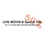 屋良朝幸「LIVE MOVIE & Special Talk 50% B I T T E R fnk 75% IN Stellar Ball 2020.12.26」オンデマンド映像配信決定!