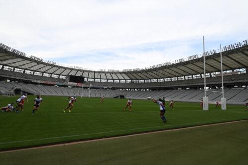 東京2020オリンピック 東京スタジアムにてラグビーの運営テストを公開