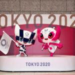東京2020オリンピック100日前 大会マスコット像とオリンピックシンボルお披露目!