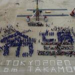 「しあわせはこぶ旅 モッコが復興を歩む東北からTOKYOへ Presented by ENEOS」巨大人形「モッコ」壮行会開催!