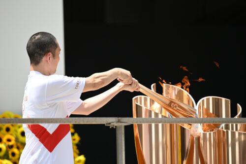 東京2020オリンピック聖火リレー 東京都DAY15 東京都オリンピック聖火リレー到着式開催!