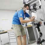 東京2020パラリンピック 本番に向けて義肢装具、車いす等の「修理サービスセンター」を選手村内に開設